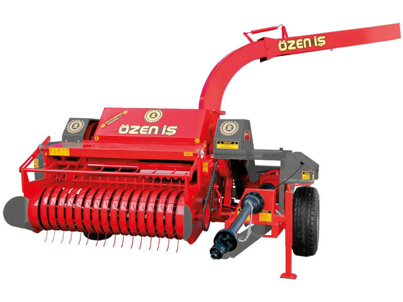 Automatic Stem Collecting Straw Machine