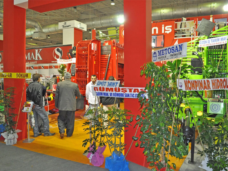 2011 Konya Agricultural Machinery Fair