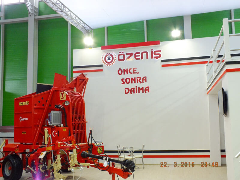 2015 Konya Agricultural Machinery Fair