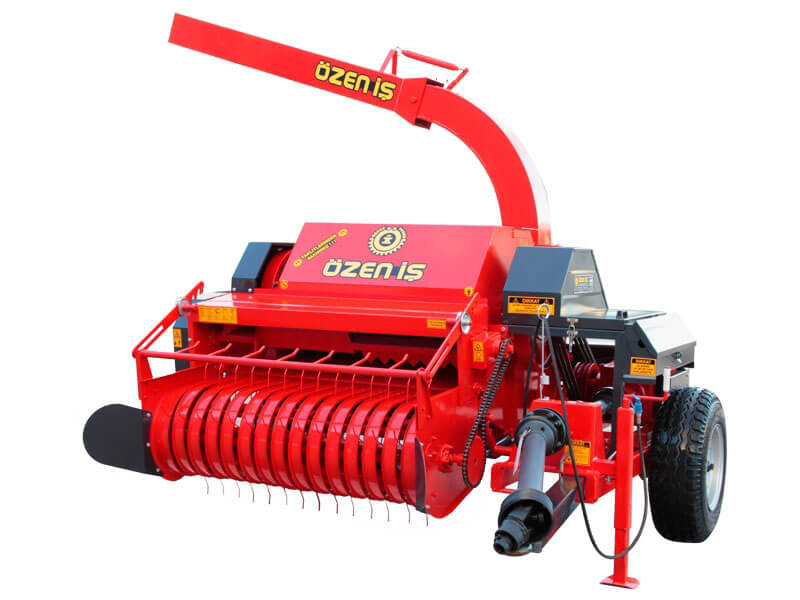 Automatic Haulm Collecting Mini Straw Machine