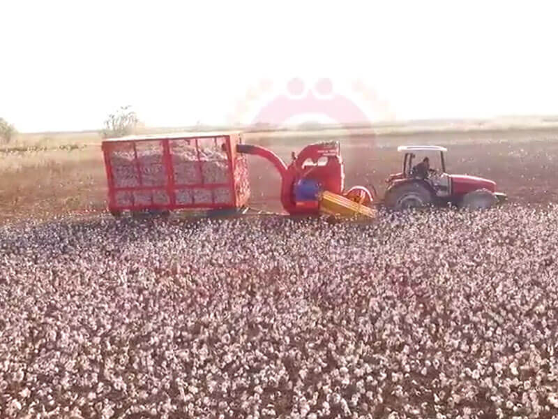 Cotton Picking Machine 2018